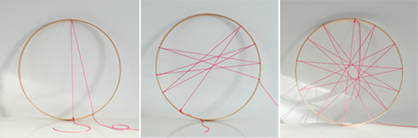 string hoop inspiration board step 2