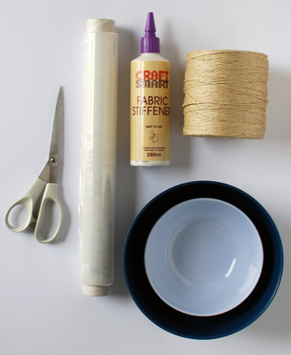 the red thread string bowl supplies