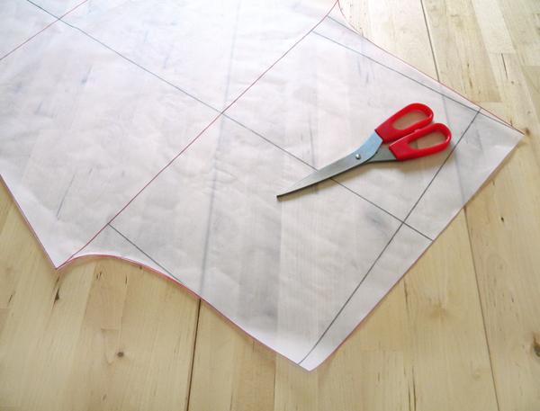 Step3-cut pattern