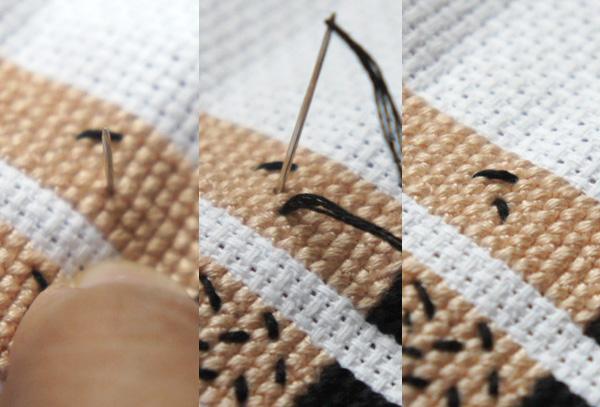 Stitch the Leg Hair