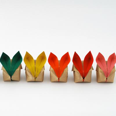 Origami bunnies hi retina