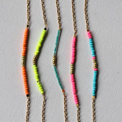 Retina preview fine chain bracelet