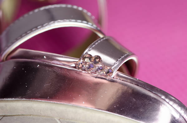 Create Your Own Crystallized Bridal Shoes