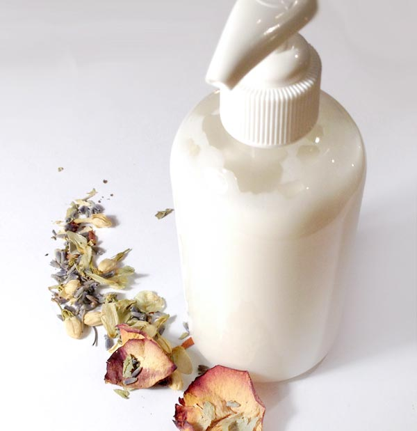 Making lotion doesn't have to be a complicated affair. Learn how to make a basic lotion featuring shea butter, none of the additives and all the essentials.