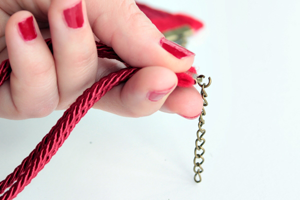 28-nautical knot necklace-add chain