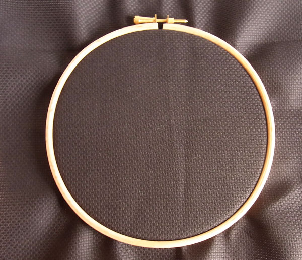 Fabric In Hoop