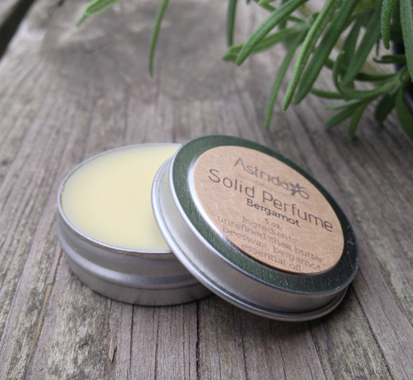 Make Your Own Solid Perfume with Essential Oils