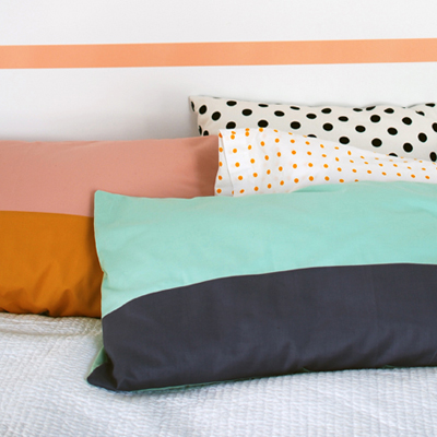 Preview for Sew a Beautiful Colour-Block Pillowcase in Less Than an Hour