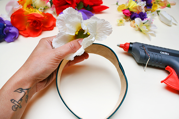 Floral Crown Step 1