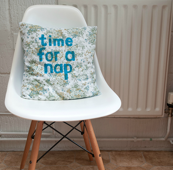 printed-cushion-final Printed cushion with slogan tutorial