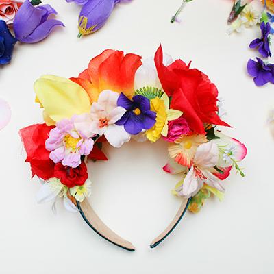 400px floral crown