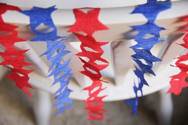 4th of july star streamer tutorail - 4th Of July Decorations