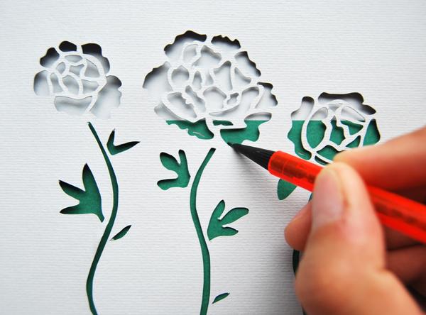 paper-cut-invite-draw-pencil-marks