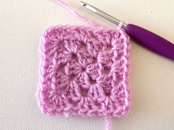 Crochet Basic Granny Square Tutorial : Crochet Fundamentals: How to Make a Basic Granny Square ...