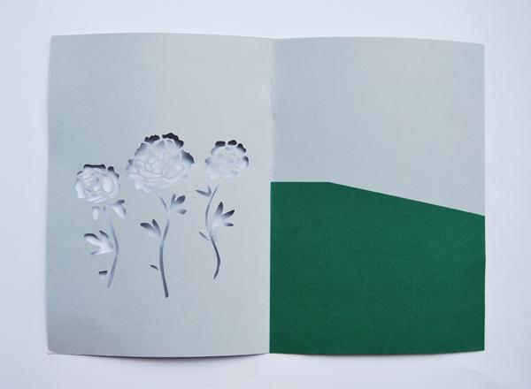 Cricut Wedding Invitations 88 Vintage paper cut invite green
