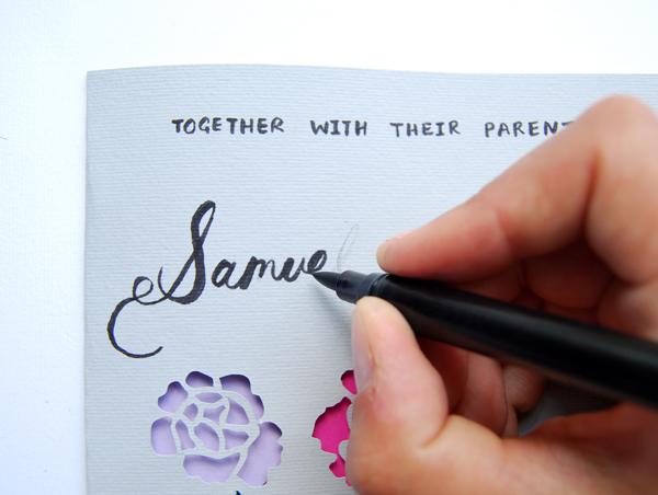 Cricut Wedding Invitations 65 Simple paper cut invite samuels