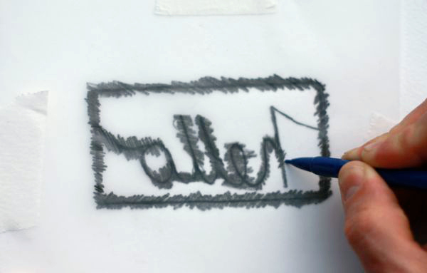 paper cutting fundamentals scribbling