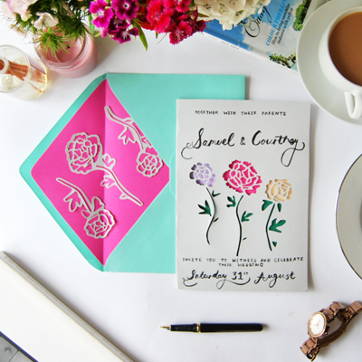 Preview for Make Stunning Papercut Wedding Invitations