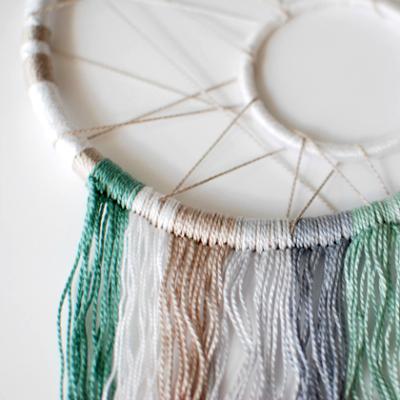 Ловец снов кормушка для рыбалки своими руками из сетки