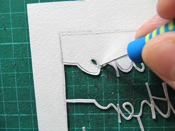 papercutting tricky letters e 11