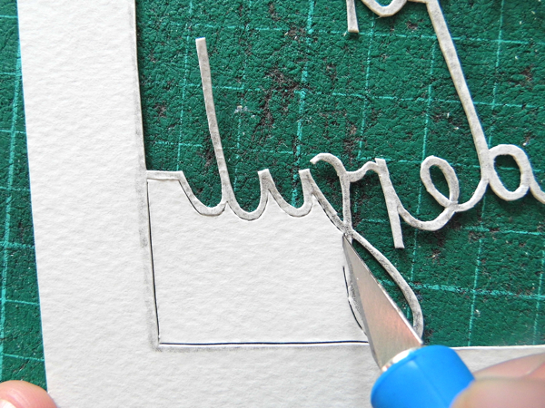 papercutting tricky letters f 4