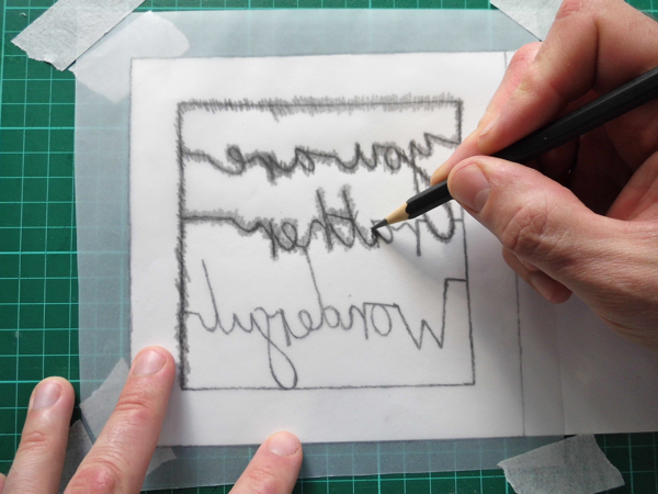 papercutting tricky letters scribbling