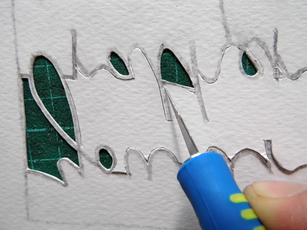 papercutting tricky letters t 2