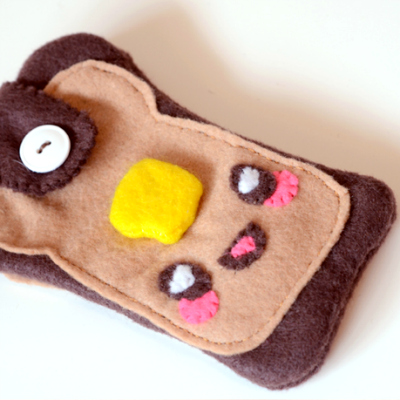 Preview for How to Make a Kawaii Toast Phone Cozy