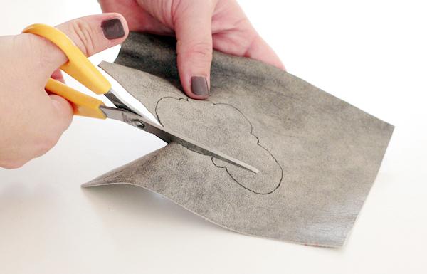5-key chain-cut leather