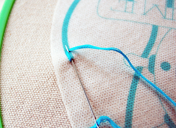 Totes-Awesome-Embroidery-Chain- Stitch-Start