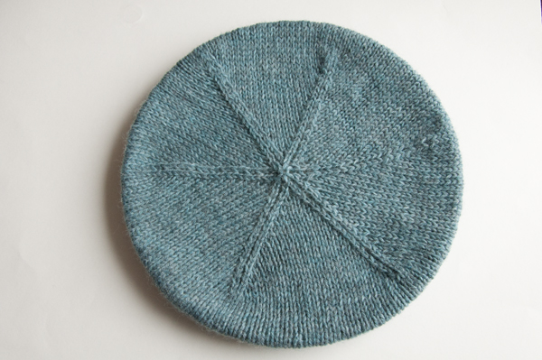 How to Knit a Simple Beret With a Cable Brim - Tuts+ Crafts & DIY Tutorial