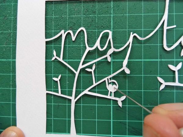 How To Make A Beautiful Papercut Bespoke Name Design