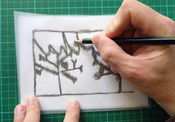 papercut name design scribbling