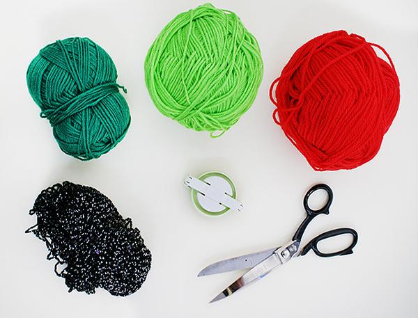 Tutti Frutti Pom Pom Materials by Kitiya Palaskas on Crafttuts+