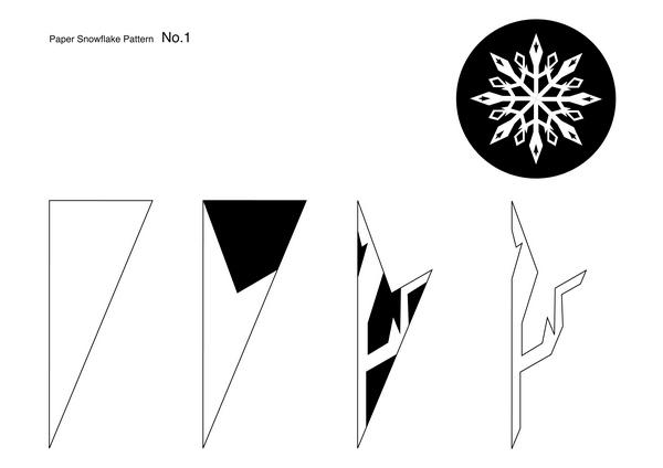 Snowflakes pattern1min