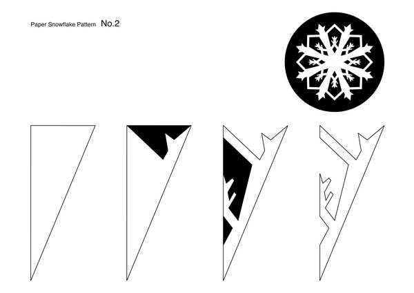 Snowflakes pattern2min