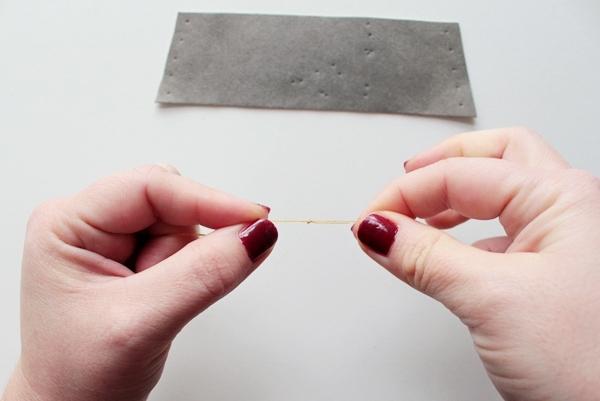 13-zodiac cuff-thread needle