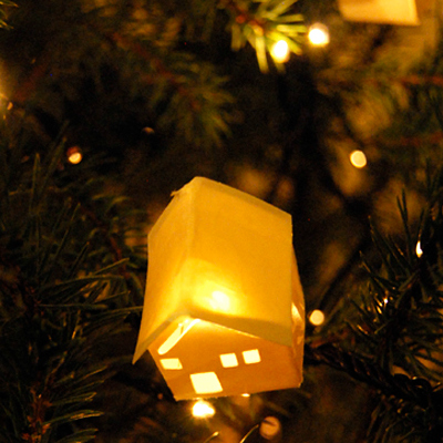 Preview for Make Paper Lantern Decorations for Your Christmas Tree