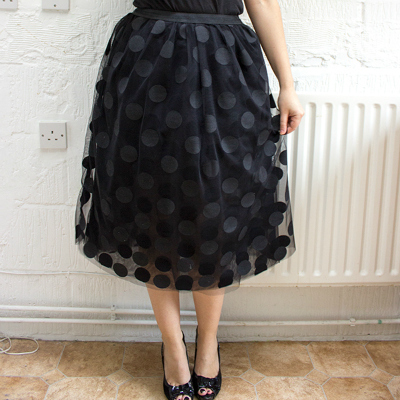 400px tulle skirt