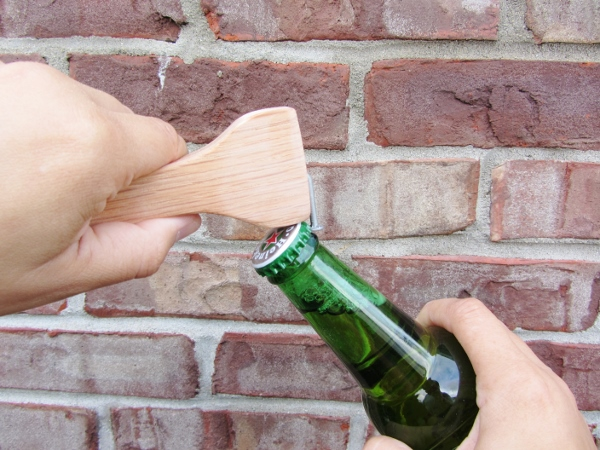 Wooden handled bottle opener tutorial