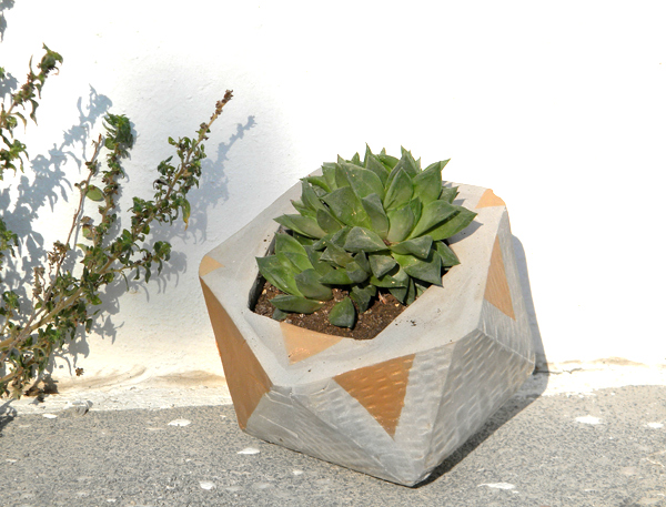 Geo Cement Planter Tutorial