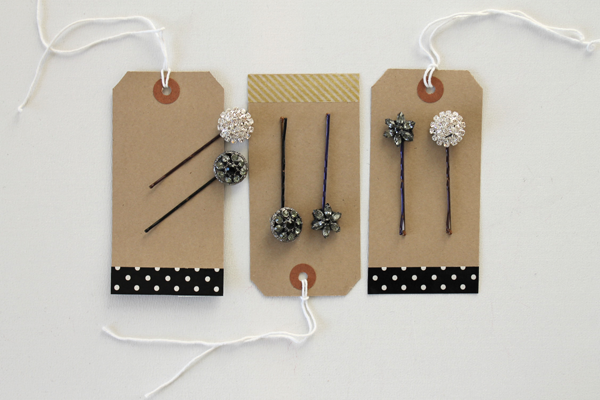 Sparkly Hairpins Tutorial