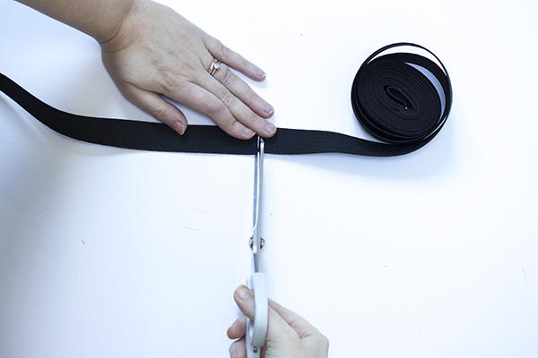 cut elastic