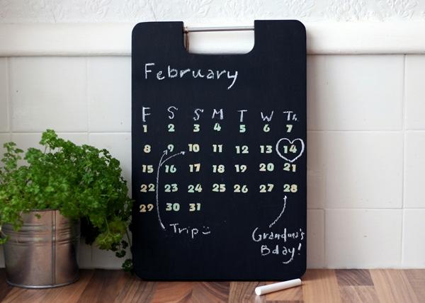 Perpetual Blackboard Calendar Tutorial
