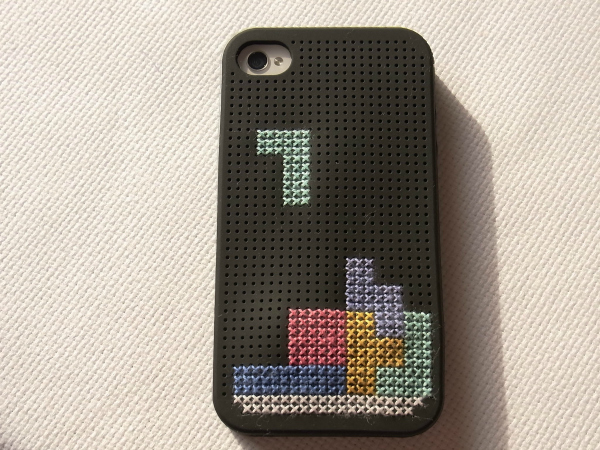 Tetris iPhone Cover Tutorial
