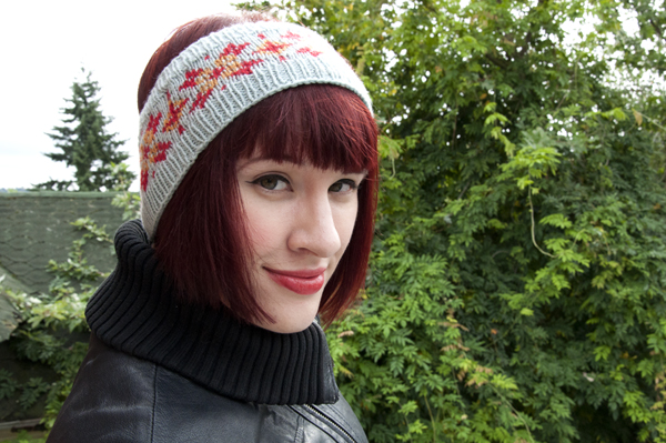 Knitted headband pattern tutorial