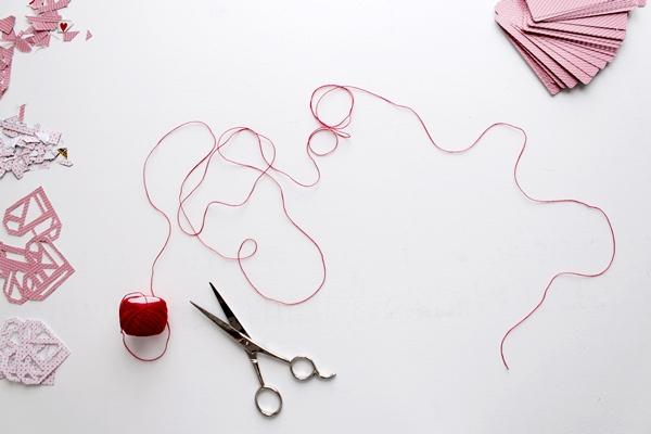 16-cut thread_garland