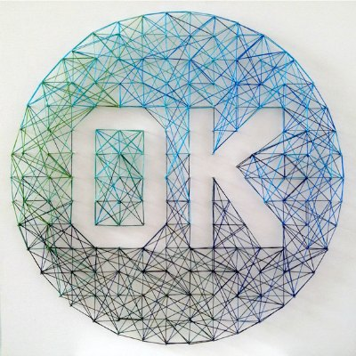 400px string art