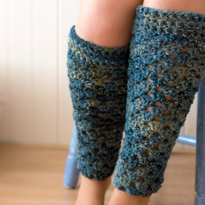 Preview for How to Crochet a Pair of Leg Warmers