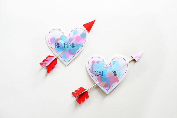 Herz Päckchen Mit Konfetti. Weitere Last Minute Geschenk Ideen Zum  Valentinstag ...